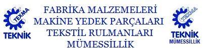 TEKSMA TEKİK Fabrika Malzemeleri